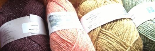 New Lanark Aran Silk