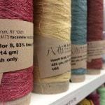 habu yarns at Be Inspired Fibres