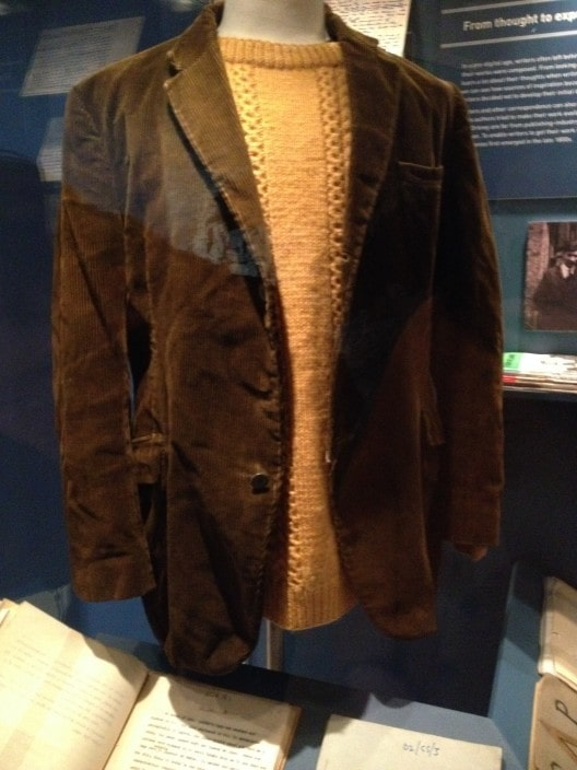 George MacKay Brown's coat and gansey