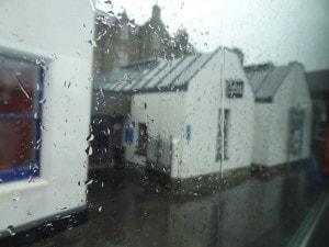 Rainy day in Shetland