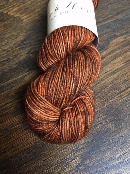 Everyday base (BFL & Nylon) in Ludo colourway