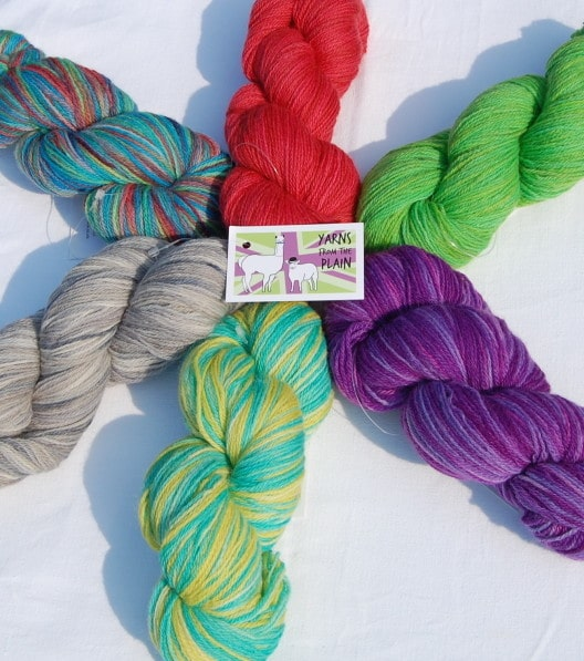 Exclusive colours for BritYarn from Yarns from the Plain