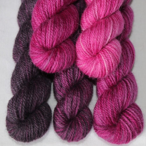 Take 5 Britsock in shaded pinks
